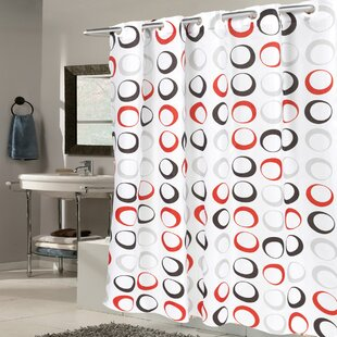 Circle Fabric Single Shower Curtain