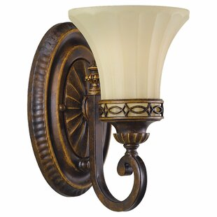 Affordable Edwardian 1-Light Armed Sconce By Feiss