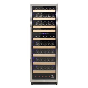 215 Bottle Connoisseur Dual Zone Convertible Wine Cellar by Vinotemp