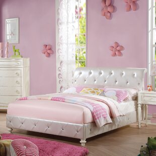 Ector Upholstered Sleigh Bed
