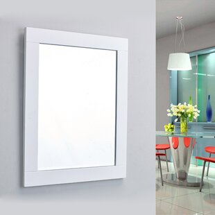 Best Reviews Pichardo Rectangle Framed Bathroom Wall Mirror By Brayden Studio
