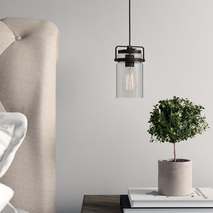 Sue 1-Light Cylinder Pendant