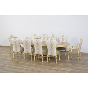 Cheyenne Luxury 11 Piece Dining Set Astoria Grand