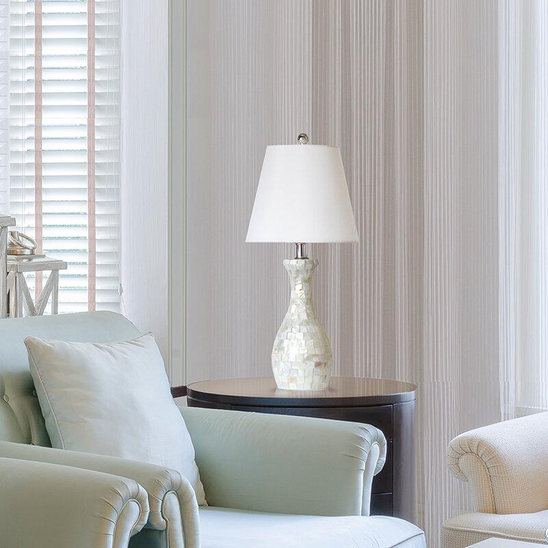Outstanding Bordelon Mosaic 22 5 Table Lamp Interior Design Ideas Clesiryabchikinfo