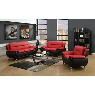 Coelho 3 Piece Living Room Set by Orren Ellis