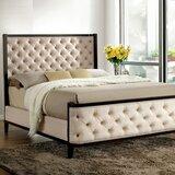 Mensa Tufted Upholstered Standard Bed by Red Barrel Studio®