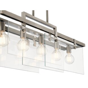 Latitude Run Horsham 5-Light Kitchen Island Pendant