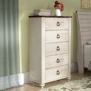 Theus 5 Drawer Chest