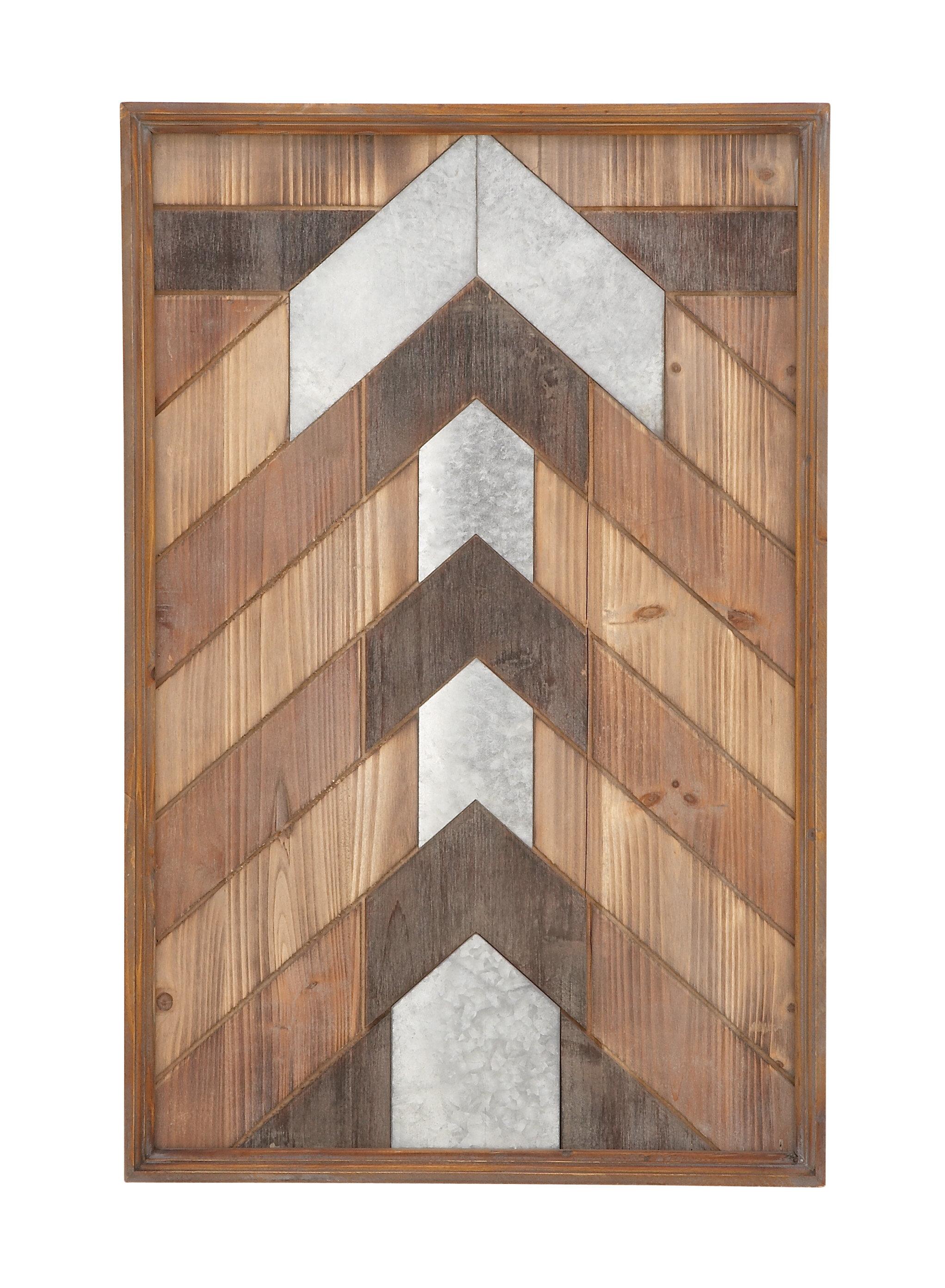 Union Rustic Wood Panel Wall Decor Reviews Wayfair
