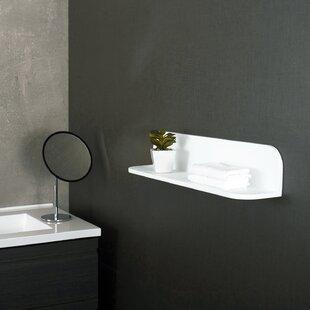 Huxley Solid Surface 475 W x 2363 H Bathroom Shelf by Orren Ellis