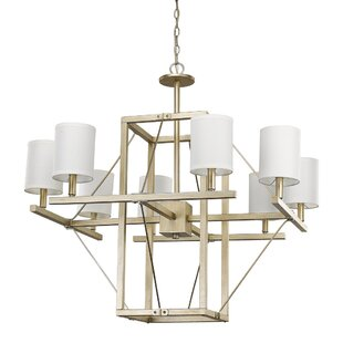 Everly Quinn Daphne 8-Light Shaded Chandelier