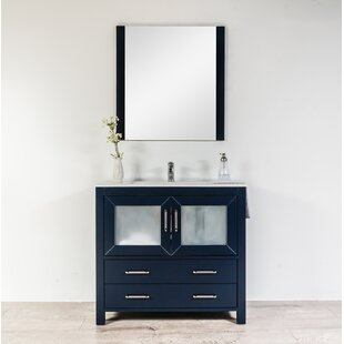 Navy Bathroom Vanity | Wayfair.ca on navy blue bathroom, navy and coral bedroom, navy and black jewelry, navy and black bedding, navy and black clothing,