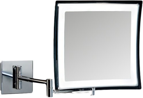 Ws Bath Collections Spiegel Battery Operated Makeup Bathroom Vanity Mirror Reviews Wayfair