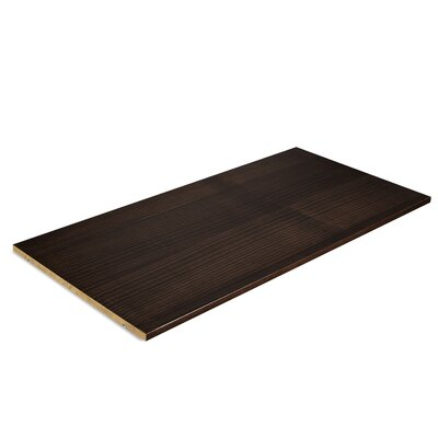 Bevers Optional Armoire Shelf Color: Espresso by Grain Wood Furniture