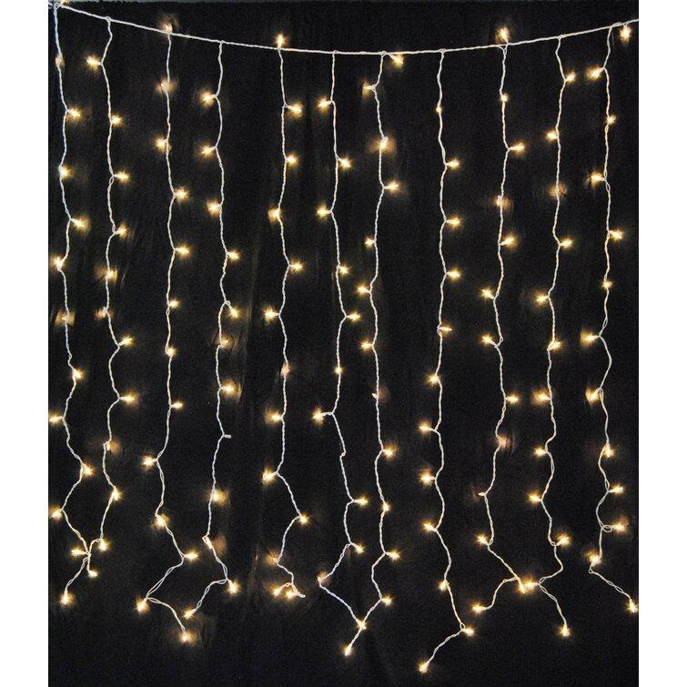 Novelty Lights 50 Light Solar LED Outdoor Christmas Mini Light Set 12 Feet