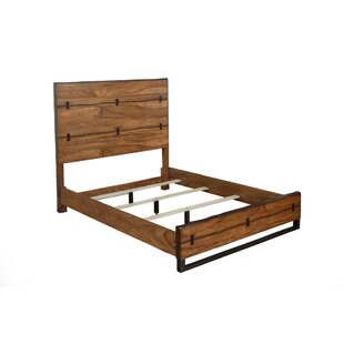 Loon Peak Winebrenner Wood Panel Bed