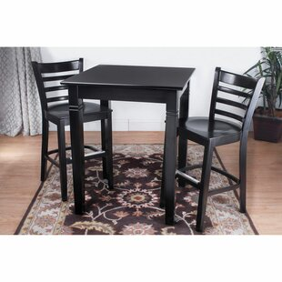 Eaglin Ladderback 3 Piece Pub Table Set DarHome Co
