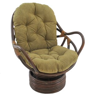 Gilles Rocker Chair with Cushion by World Menagerie