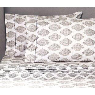 House of Hampton Kay 400 Thread Count 100% Cotton Sheet Set