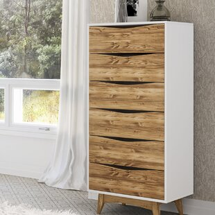 Taulbee 6 Drawer Lingerie Chest