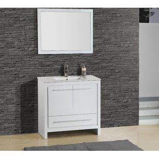 Shopping for Alexa 30 Single Vanity with Mirror ByAdornus