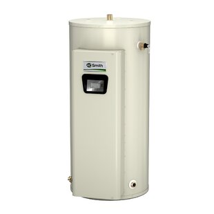 A.O. Smith DVE-52-30 Commercial Tank Type Water Heater Electric 52 Gal Gold Xi Series 30KW Input