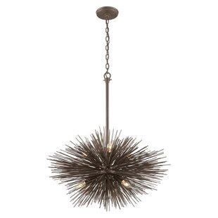 Brayden Studio Westerfield 6-Light Sputnik Chandelier