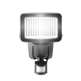120 SMD LED Solar Security Light In Black Image