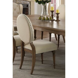 Yaritza Upholstered Dining Chair (Set Of 2) by DarHome Co Bargain
