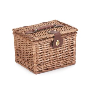 Light Steamed Small Wicker Basket