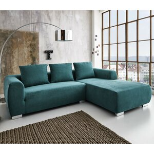 Ecksofa Basic mit Bettfunktion von Hazelwood Home