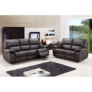 Claverton Air Reclining Upholstered 2 Piece Living Room (Set of 2) by Red Barrel Studio