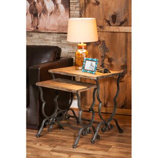 2 Piece Joad Nesting End Table by Evergreen Flag & Garden