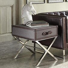 Hamilton End Table by Lazzaro Leather