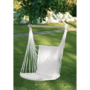 Alvarado Woven Cotton Chair Hammock by Mistana 2019 Online