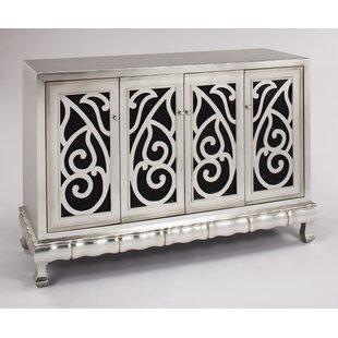 Artmax Cabinet with 4 Doors Accent Cabinet