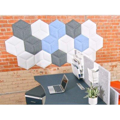 Hexagon Wall Dãcor Ivy Bronx Color Dark Green
