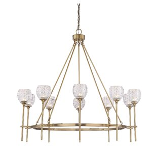 Hawkins 10-Light Shaded Chandelier