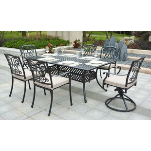 Darby Home Co Christena 7 Piece Dining Set