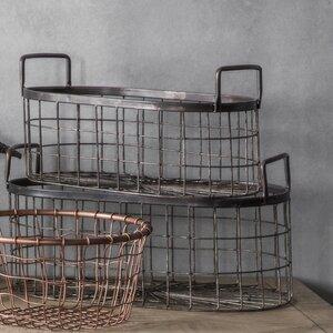 2-tlg. Korb-Set Gracieta von Laurel Foundry