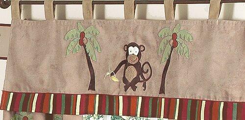 "Monkey 54"" Curtain Valance"