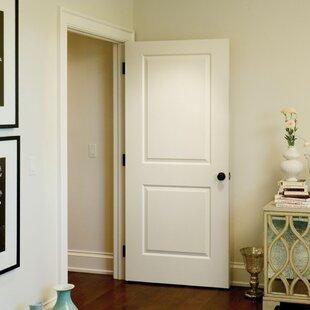 Carrara Smooth Surface Solid Panelled Prehung Interior Door & Interior Prehung Doors | Wayfair