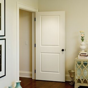 Ordinaire Paneled Solid Manufactured Wood Primed Molded Interior Standard Door