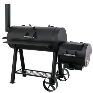 Offset Charcoal Smoker By Symple Stuff