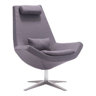 Wade Logan Lorimer Swivel Lounge Chair