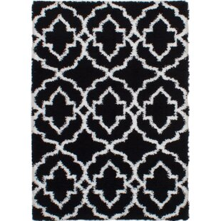 Find a Meunier Black Area Rug By House of Hampton