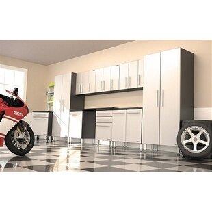 Garage PRO 7' H x 17' W x 2' D 10-Piece Cabinet Set by Ulti-MATE