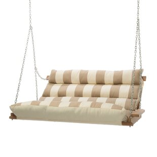 Montgomery Regency Sand Deluxe Cushion Sunbrella Porch Swing