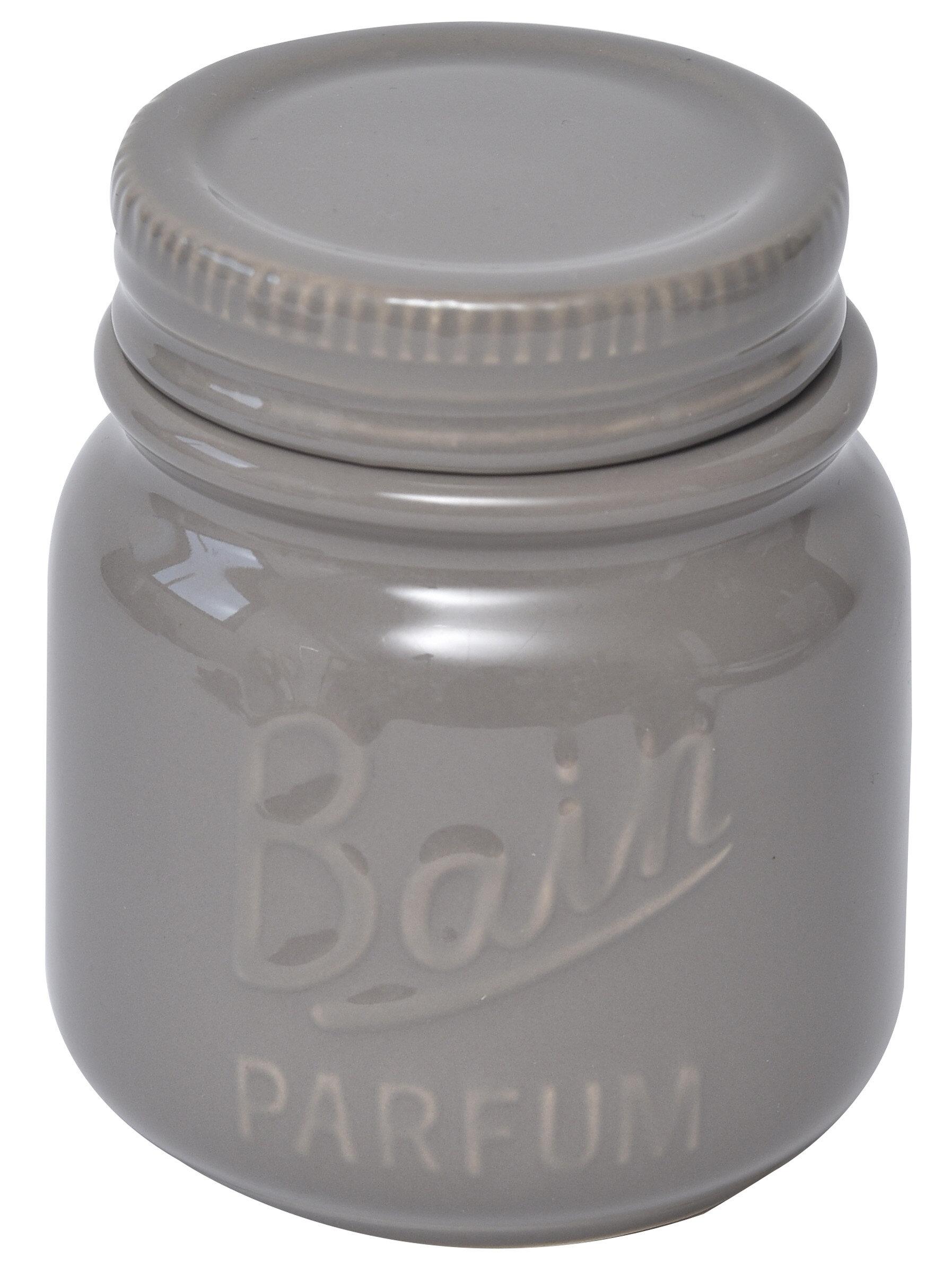 Evideco Mason Bathroom Storage Jar With Cover | Wayfair