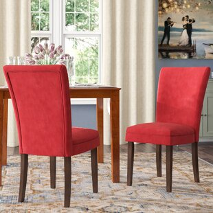 Doerr Side Upholstered Dining Chair (Set of 2)